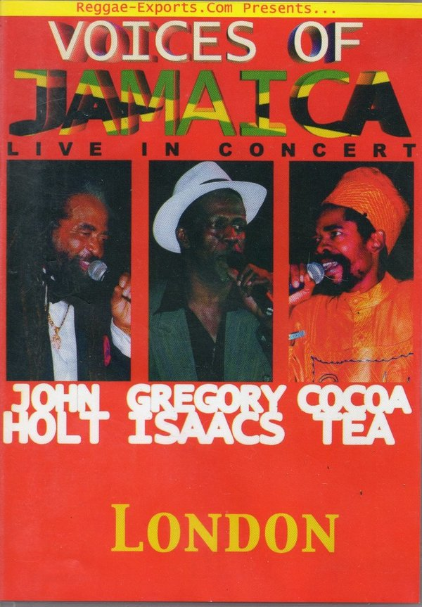 Voices of Jamaica Live in Concert (DVD) - REDVD001