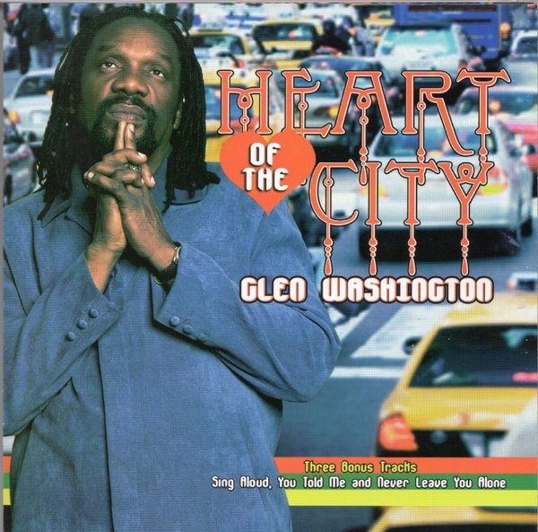 Glen Washington: Heart of the City (CD)